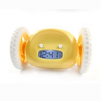 Nanda Clocky Mobile Alarm Clock Yellow
