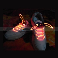 Red LED Steady/Flashing Shoelace Bootlace Latchet Lace Shoestring