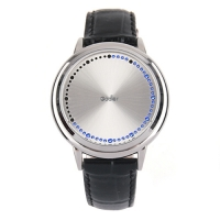 Godier Blue LED Touch Screen Watch Нержавеющая сталь